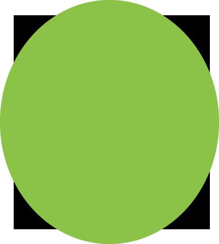 四角と楕円形