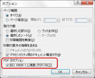 オプションダイアログでISOに準拠にチェック