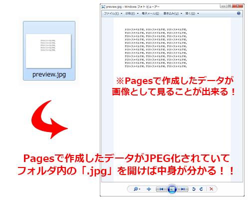 解凍したフォルダ内の「.jpg」ファイルを開けば画像として中身が見える